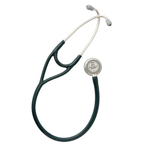 供え 送料無料 即納最大半額 スピリット メディカル社 聴診器 カラー:ダークグリーン CK-SS747PF マルチ カーディーDX