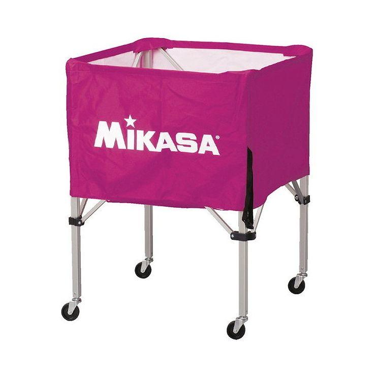 ミカサ(MIKASA) 器具 ボールカゴ 箱型・中(フレーム・幕体・キャリーケース3点セット) BCSPS 【カラー】バイオレット【送料無料】