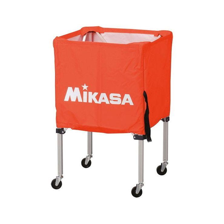 ミカサ(MIKASA) 器具 ボールカゴ 箱型・小(フレーム・幕体・キャリーケース3点セット) BCSPSS 【カラー】オレンジ【送料無料】【S1】