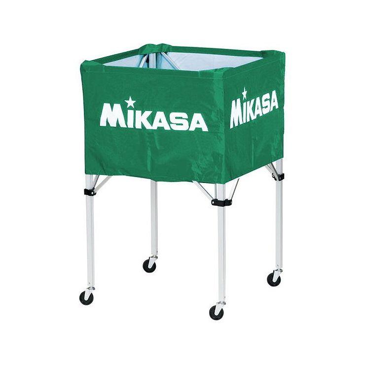 ミカサ(MIKASA) 器具 ボールカゴ 箱型・大(フレーム・幕体・キャリーケース3点セット) BCSPH 【カラー】グリーン【送料無料】