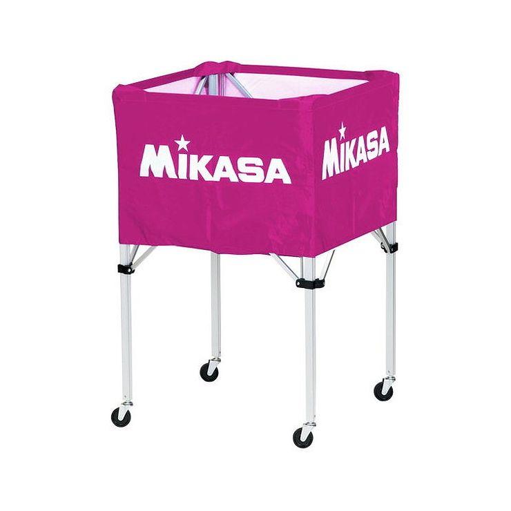 ミカサ(MIKASA) 器具 ボールカゴ 箱型・大(フレーム・幕体・キャリーケース3点セット) BCSPH 【カラー】バイオレット【送料無料】