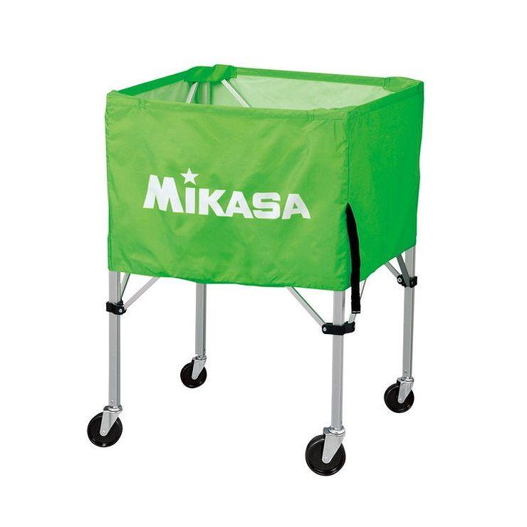 ミカサ(MIKASA) 器具 ボールカゴ 屋外用(フレーム・幕体・キャリーケース3点セット) BCSPHL 【カラー】ライトグリーン【送料無料】