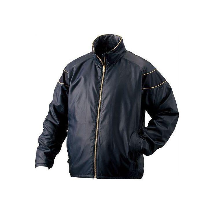 ZETT(ゼット) PROSTATUS ハイブリッドアウタージャケット ネイビー BOG900 2900 サイズ:M 野球&ソフト グランドコート