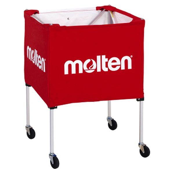 モルテン(Molten) 折りたたみ式ボールカゴ(屋外用) 赤 BK20HOTR【送料無料】