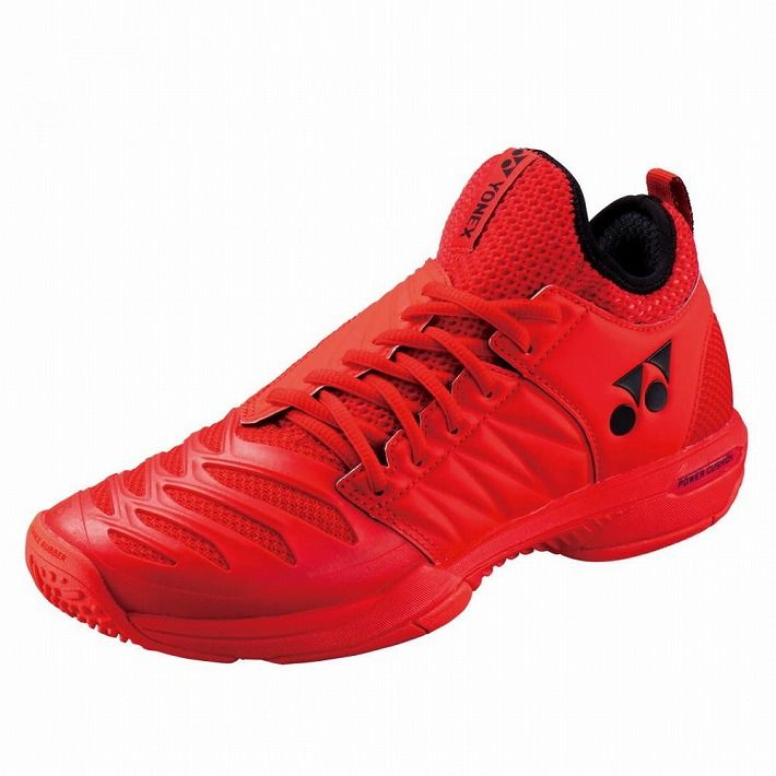 Yonex 【サイズ】25.5 テニスシューズ POWER CUSHION FUSIONREV3 MEN GC SHTF3MGC 【カラー】レッド