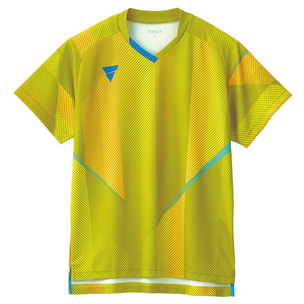 VICTAS 卓球ゲームシャツ V-GS203 男女兼用 031487 【カラー】イエロー 卓球【送料無料】