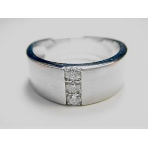 K18WGダイヤリング 0 20CT R76127 7号XuPkOZiT