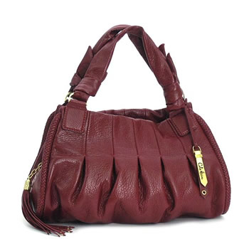 8aa3067eb8 Cole Haan COLE HAAN shoulder bag B25778 SMALL TRIPLE ZIP SATCHEL PHOEBE  LACQUER RED ...