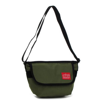 manhattampoteji MANHATTAN PORTAGE挎包1603 Nylon Messenger Bag OLIVE