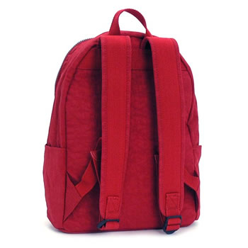 kipuringu KIPLING帆布背包包K13624 CHALLENGER BASIC RED