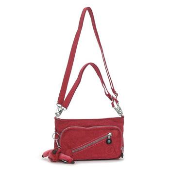 Kipling KIPLING shoulder bag K13696 MILOS BASIC JUICYPINK