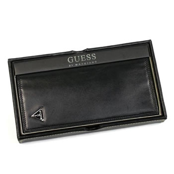 Guess GUESS long wallet long bills OBSESSION Yen Secretary w/zipper BK
