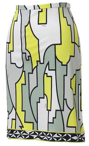 エミリオ・プッチ EMILIO PUCCI スカート 91RV15 YL【送料無料】【Luxury Brand Selection】