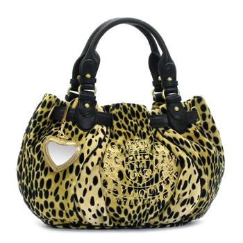 rikomendofuasshonkan  JUICYCOUTURE Juicy Couture shoulder bag CHEETAH PRINT  YHRU1918 MD FREE STYLE BLACK MULTI BK BE  541ca2eb95de