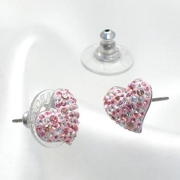 Swarovski Earrings Pierced 993487 Alana Light Rose Earring
