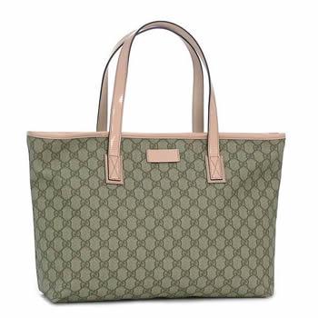 7a9ea25d03b Gucci by GUCCI tote bag TOTE TOTE MD ZIP CLOSURE E EBO ROSE DRGAEE SALMON