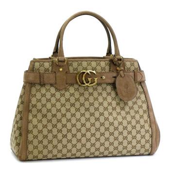 6337faa9311 rikomendofuasshonkan  Gucci by GUCCI tote bag GG RUNNING 247179 BORSA GG  RUNNING ORIGINAL GG BEIGE EBONT MARRON GLAC  BE