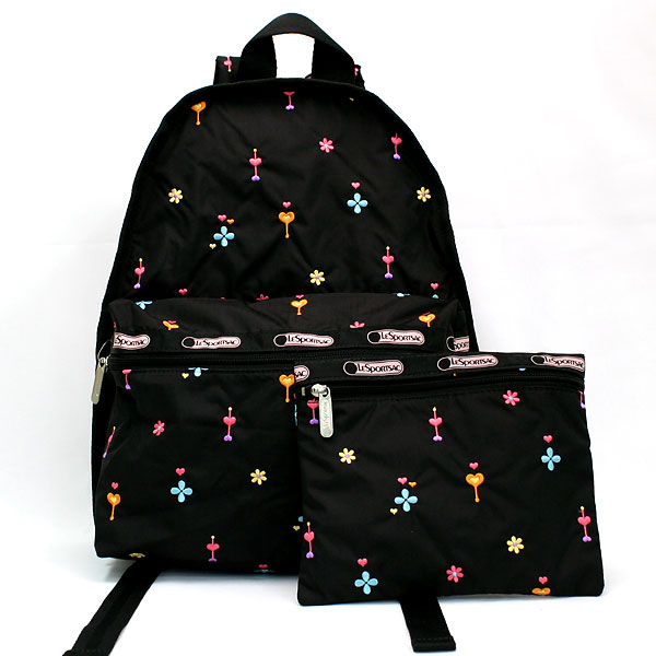 Lesportsac LESPORTSAC 袋 7812 基本背包袋热潮