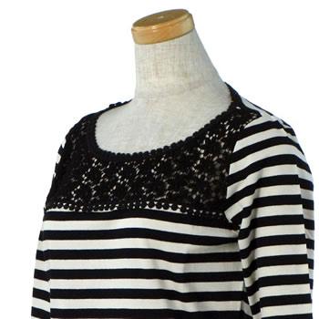 マックスマーラ ウィークエンド MAXMARA WEEKEND レディース Tシャツ 59410827000 HUMOUR BLAVK IVORY BK BE 送料無料lFK1JTc