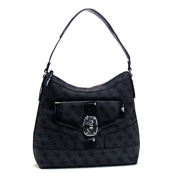 Guess GUESS shoulder bag LETTY LOGO SV346302 LETTY LOGO HOBO COAL D.GY
