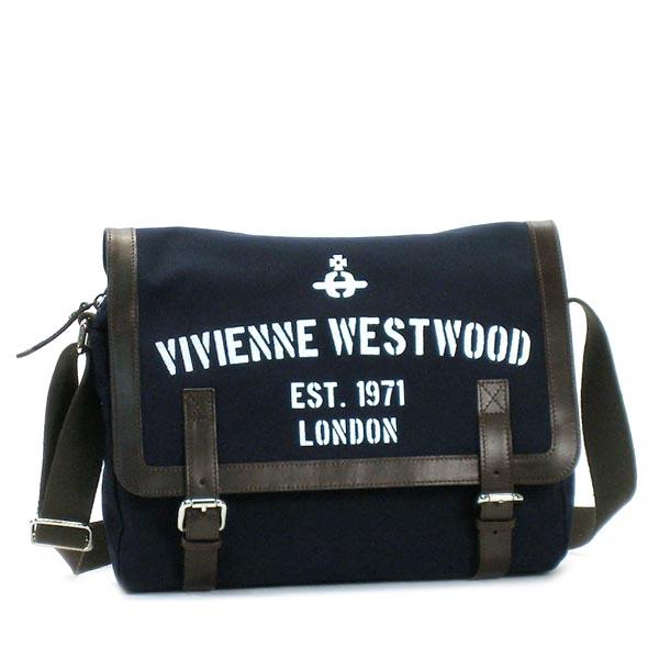 ヴィヴィアン ウエストウッド VIVIENNE WESTWOOD バッグ 斜めがけ REGIMENT 13172 POSTINO BLUE BL【送料無料】