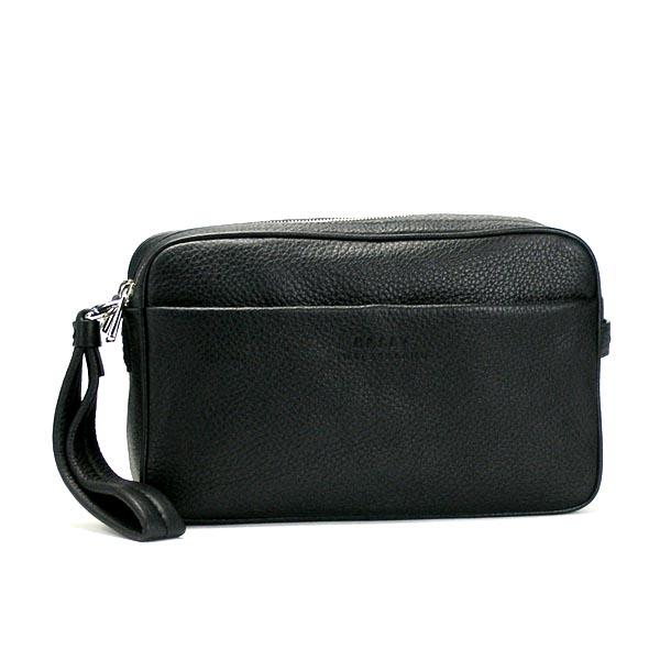 Bally BALLY bag MILANO MICRON-SM  M CLUTCH BLACK BK