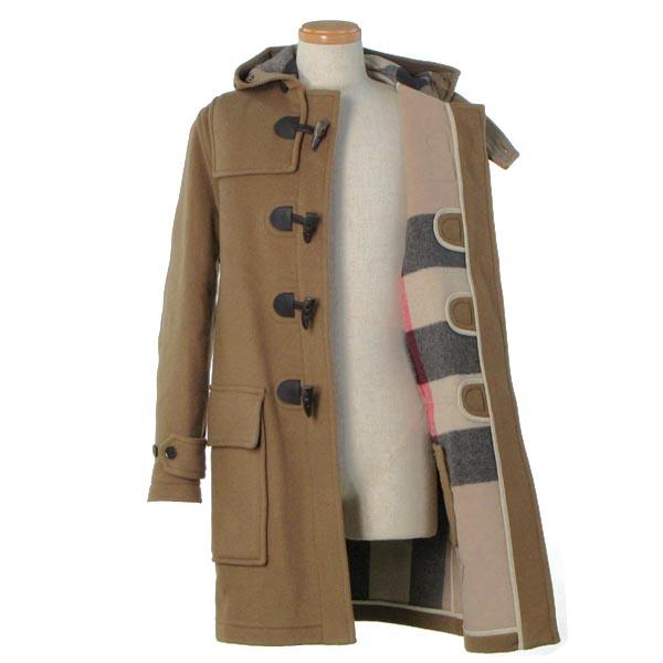 c5ffed12fa Burberry BURBERRY mens coat 22 3829664 MONTGOMERY LUNGO ALAMARI PELLE CAMEL