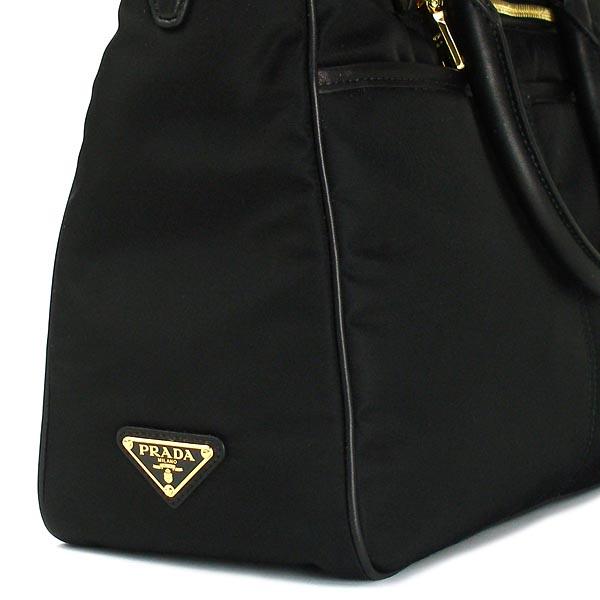 Prada PRADA tote bag TESSUTO+SAFFIANO BN2280 OUTLET NERO BK