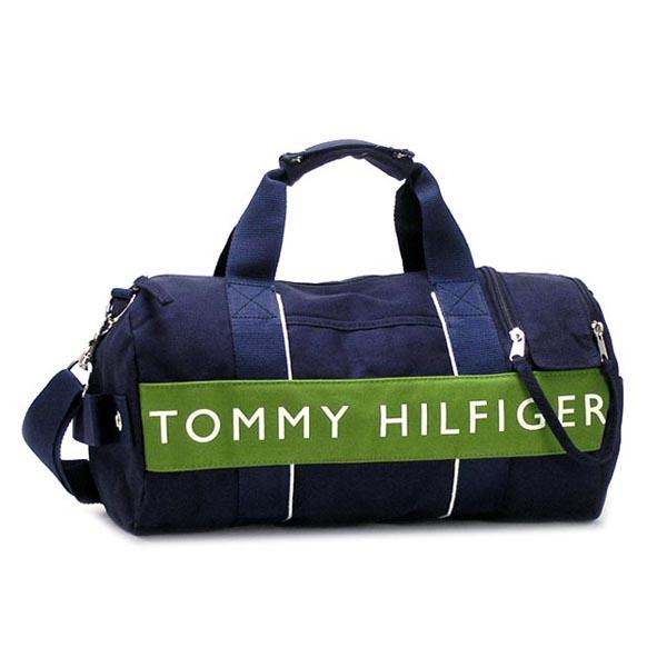4a43abc7554 rikomendofuasshonkan  Tommy Hilfiger TOMMY HILFIGER Boston bag LOGO CLASSICS  6912242 MINI DUFFLE NAVY LICHEN GREEN NV   Rakuten Global Market