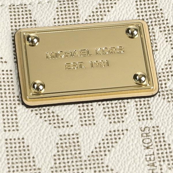 迈克尔套餐Michael Kors长钱包长牌32S3MELE1B VANILLA WT