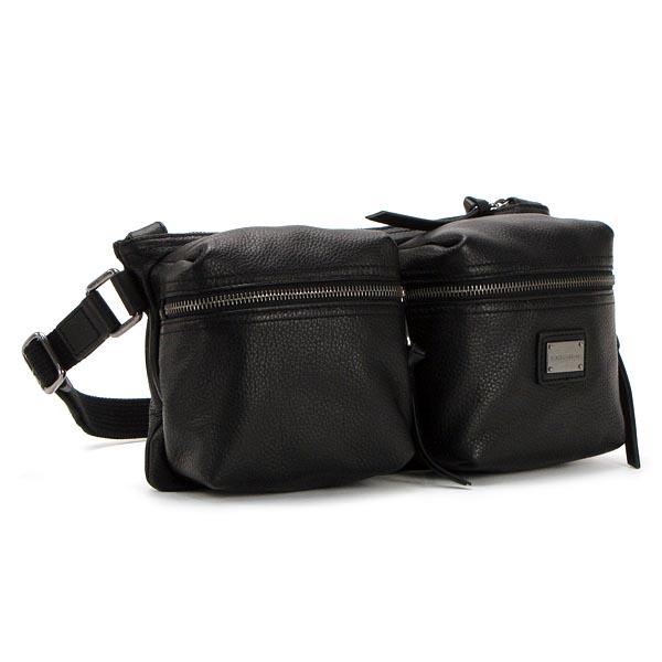 449772f280 rikomendofuasshonkan  Dolce  amp amp  Gabbana DOLCE &GABBANA belt bag A3638  BP1784 BUM BAG BLACK BK