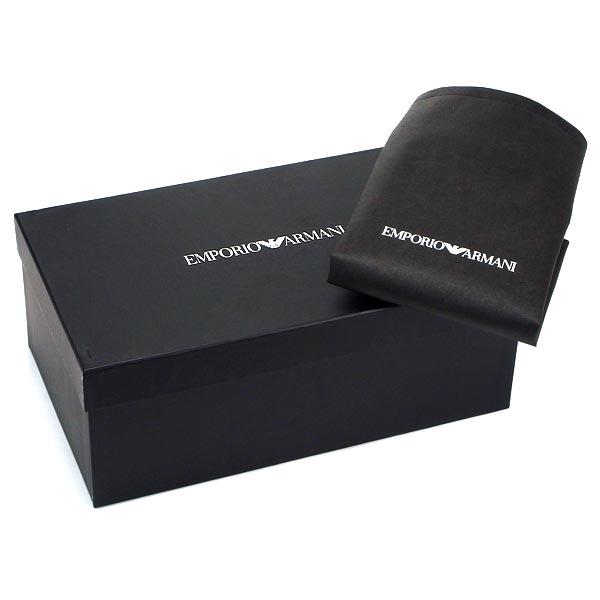 emporio·阿瑪尼EMPORIO ARMANI人鞋X4X049 SNEAKERS BLU/SILVER BL