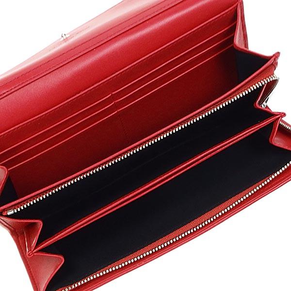 克里斯汀迪奥CHRISTIAN DIOR长钱包长牌GRA CAL43060P LADY DIOR WALLET FALP GERANIO RED