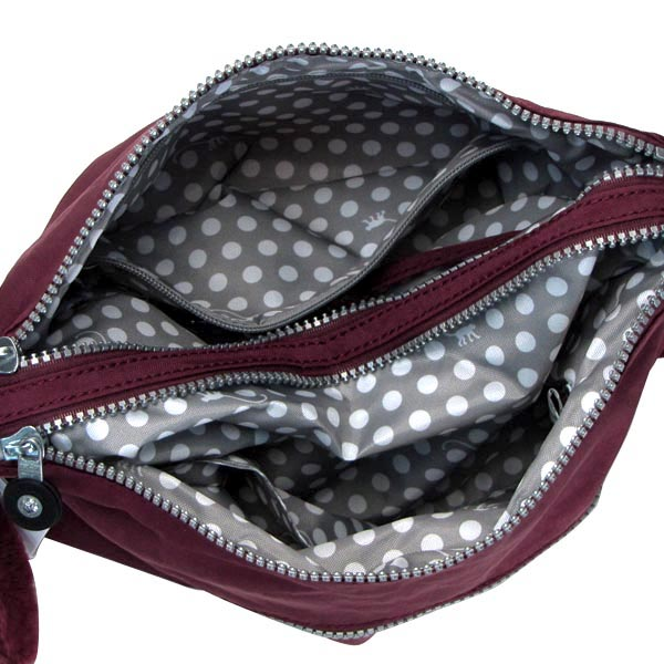 Kipling kipling shoulder bag BASIC K13335 ALVAR PORT RED RED