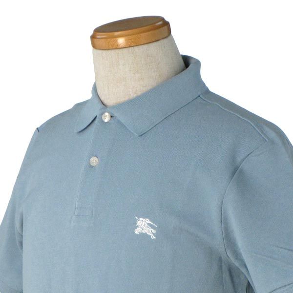 9c7d746aac36 ... Burberry BURBERRY men's polo-shirt F0A027 COTTON PIQUET POLO LIGHT BLUE  BL