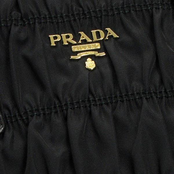 普拉达 (prada) 普拉达肩袋 B2587L 购物 CON TRACOLLA NERO BK