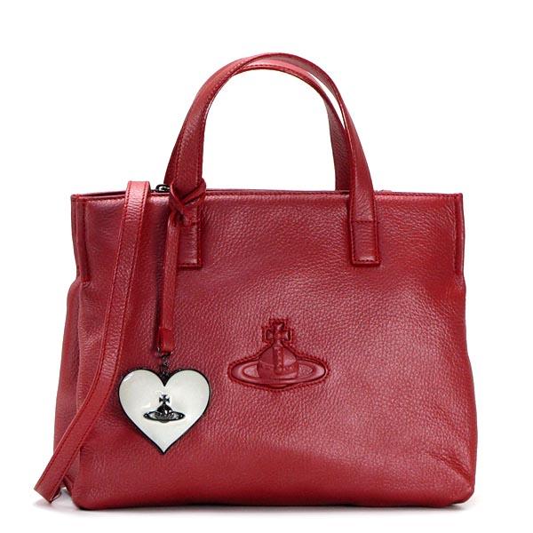 ヴィヴィアン ウエストウッド VIVIENNE WESTWOOD トートバッグ 13415 SMALL SHOPPER RED【送料無料】