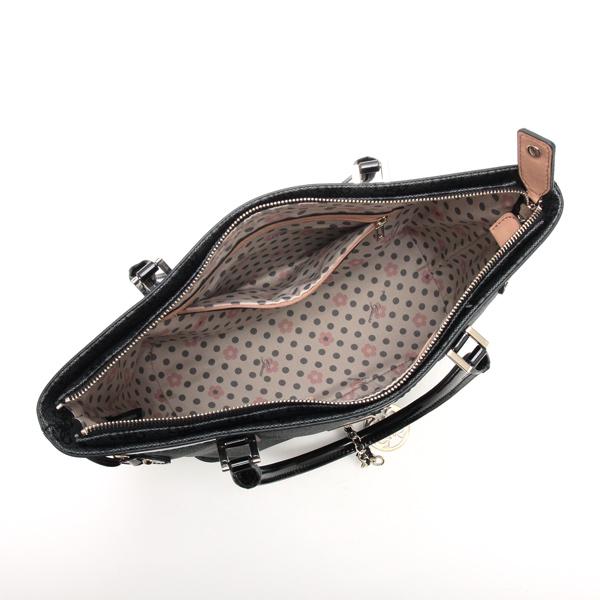 Guess GUESS tote bag SG452722 LOGO REMIX SMALL CLASSIC TOTE COAL BK