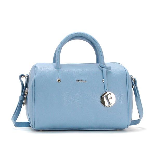 Furla Handbags Bbz9 Alissa S Satchel Oxford Sky Blue