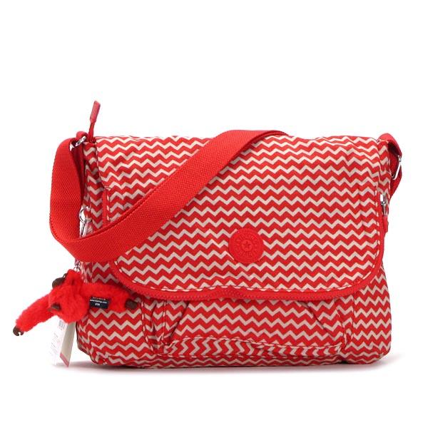 吉卜林吉卜林挎包 K15176 伽蓝雪佛龙红色公关红色