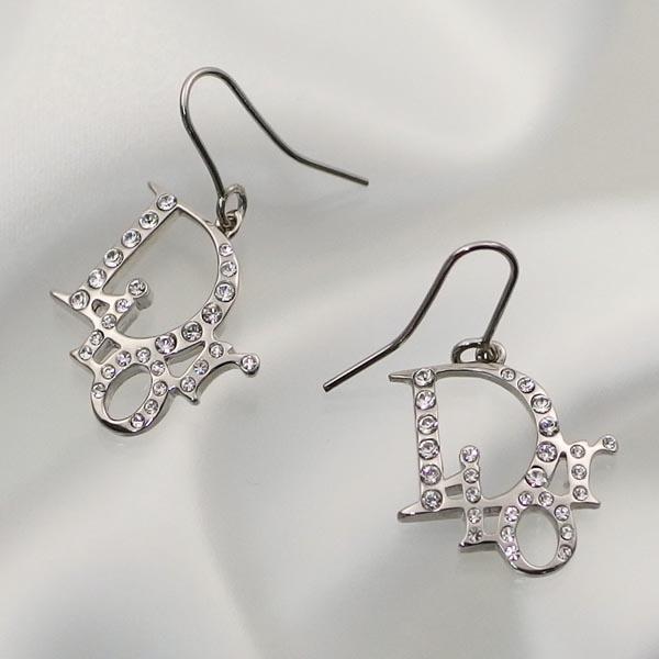 Dior Earring Earrings E0027d Sliver Si