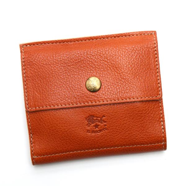 イルビゾンテ IL BISONTE 財布 Wホック C0910 CARAMEL CAMEL【送料無料】