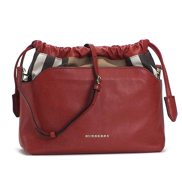 00c405f3ea53 rikomendofuasshonkan  Burberry BURBERRY shoulder bag LITTLE CRUSH HFL  MILITARY RED RED