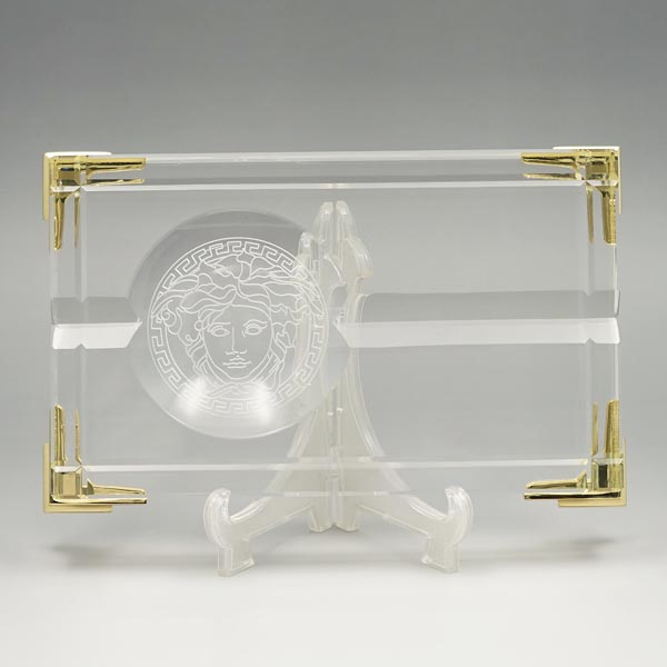 ヴェルサーチ Versace 灰皿 47542 ZIGARRENASCHER 20CM【送料無料】