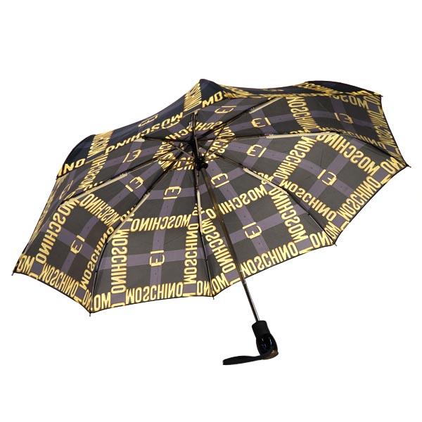 Moschino Moschino umbrella UMBRELLA 8390 MOSCHINO BELT MINI BLACK BK