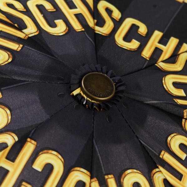 Moschino Moschino umbrella UMBRELLA 8390 MOSCHINO BELT MINI BLACK BK