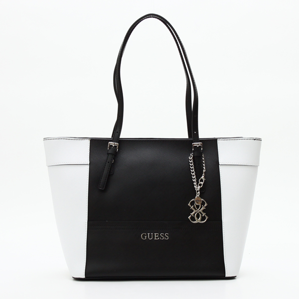 23d01691ec Guess GUESS tote bag VY453522 DELANEY SMALL CLASSIC TOTE BLACK MULTI WT