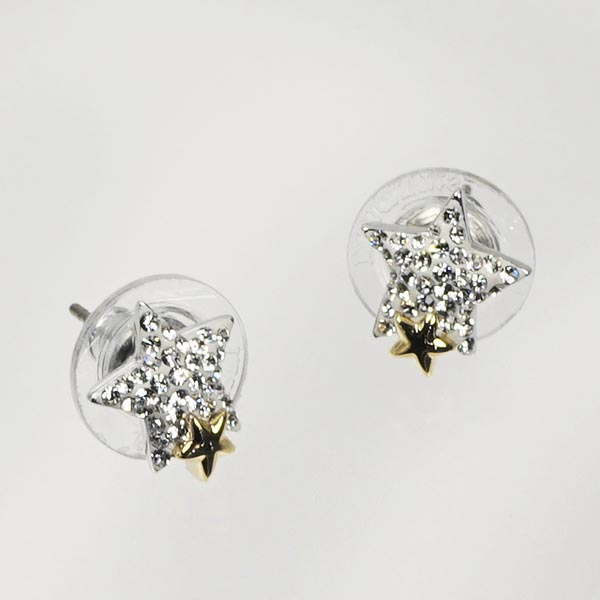 Swarovski SWAROVSKI earring / earrings 1181098 TOUGH PIERCED EARRINGS STAR