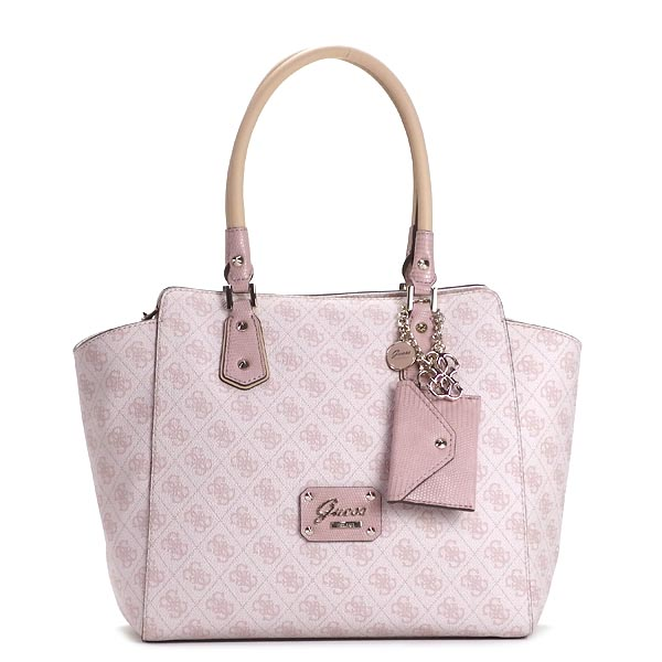 Guess Shoulder Bag Sg503110 Park Lane Avery Satchel Light Rose Pk