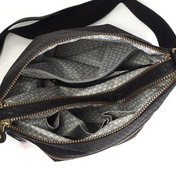 Kipling kipling shoulder bag K12472 ALVAR BP PLOVER BLACK BK